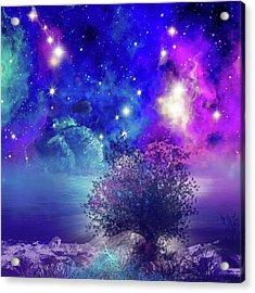 Galaxy Landscape 2 Acrylic Print