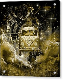 Galaxy Vintage Voyager 3 Acrylic Print
