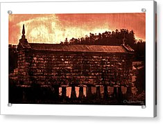 Galician Horreo Acrylic Print by Xoanxo Cespon