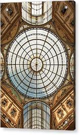Galleria Victor Emmanuel 1 Acrylic Print by Art Ferrier