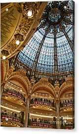 Gallery Lafayette Ceiling IIi Acrylic Print by Louise Fahy