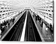 Gallery Place Metro Acrylic Print