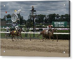 Acrylic Print featuring the digital art Galloping Out Painting by  Newwwman
