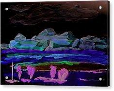 Gallup New Mexico Acrylic Print by Kevin Callahan