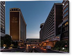 Acrylic Print featuring the photograph Galt House Hotel And Suites by Randy Scherkenbach