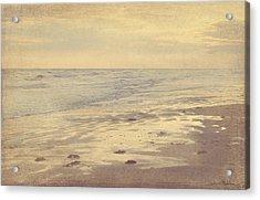 Galveston Island Sunset Seascape Photo Acrylic Print by Svetlana Novikova