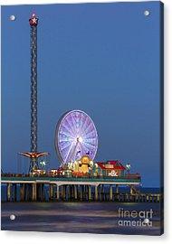 Galveston Pier  Acrylic Print