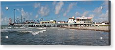 Galveston Pleasure Pier Acrylic Print by Joshua House