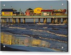 Galveston Pleasure Pier  Acrylic Print