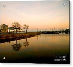 Galway Bay Sunset Acrylic Print