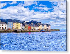 Galway On The Water Acrylic Print
