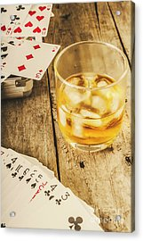 Gamblers Still Life Acrylic Print by Jorgo Photography - Wall Art Gallery
