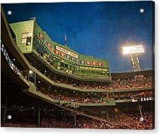 Game Night Fenway Park - Boston Acrylic Print