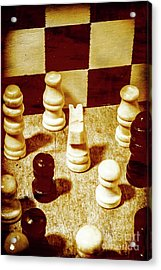 Game Of Chess And Tactics Acrylic Print by Jorgo Photography - Wall Art Gallery