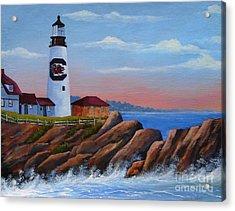 Gamecock Lighthouse Acrylic Print