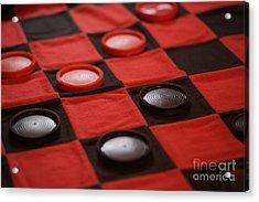 Games Acrylic Print by Linda Shafer