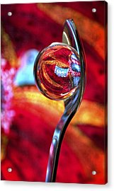 Acrylic Print featuring the photograph Ganesh Spoon by Skip Hunt
