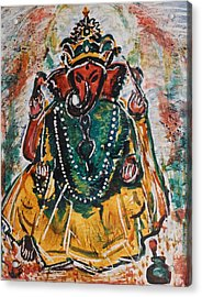 Ganesha-2 Acrylic Print