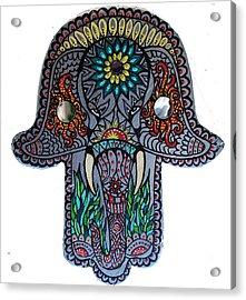 Ganesha Hamsa Acrylic Print