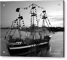 Gang Of Pirates Acrylic Print by David Lee Thompson