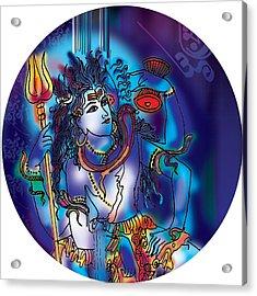 Gangeshvar Shiva Acrylic Print