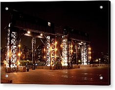 Gantry Nights Acrylic Print