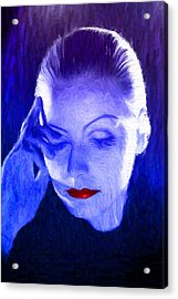 Garbo Acrylic Print by Caito Junqueira