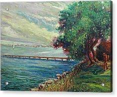Garda Lake -lago Garda Acrylic Print