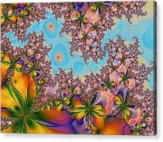 Garden 2 Acrylic Print by Alexandru Bucovineanu