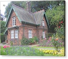 Garden At Scotland Acrylic Print