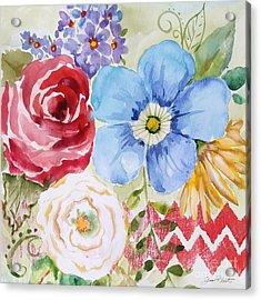 Garden Beauty-jp2958b Acrylic Print by Jean Plout
