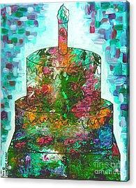 Garden Cake Acrylic Print