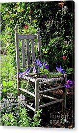 Garden Chair Acrylic Print