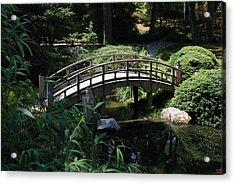 Garden Crossing Acrylic Print