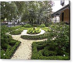 Garden Design Acrylic Print by Kim Zwick