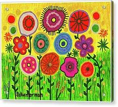 Garden Extravaganza Acrylic Print