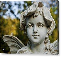 Garden Fairy Acrylic Print by Christopher Holmes