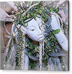 Garden Fairy Acrylic Print by Patrice Zinck
