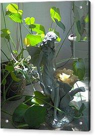 Garden Fairy Acrylic Print by Tori  Reynolds