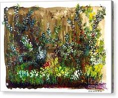 Garden Fence Acrylic Print