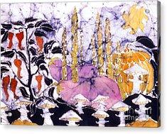 Garden Fest From The Sun Acrylic Print by Carol  Law Conklin