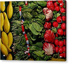 Garden Fresh Acrylic Print by Doug Strickland