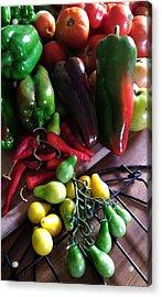 Garden Fresh Produce Acrylic Print