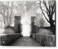 Garden Gate Acrylic Print by Michael Hudson