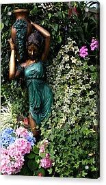 Garden Goddess Acrylic Print by Kristin Elmquist