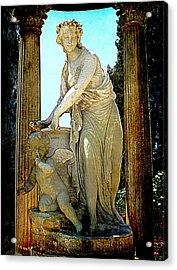 Acrylic Print featuring the photograph Garden Goddess by Lori Seaman