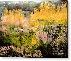 Garden In Northern Light Acrylic Print
