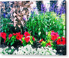 Garden Landscape 2 Version 1 Acrylic Print