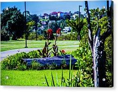 Garden Log Acrylic Print