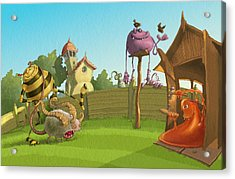 Garden Monsters Acrylic Print